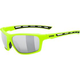 UVEX Sportstyle 229 Glasses, geel/zilver